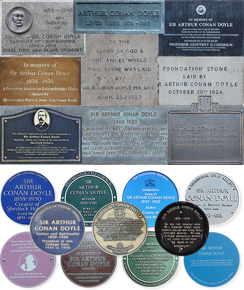 Some plaques around the world...