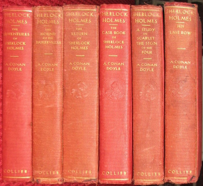 File:P-f-collier-1936-the-complete-sherlock-holmes-in-six-volumes-spines-6vol.jpg