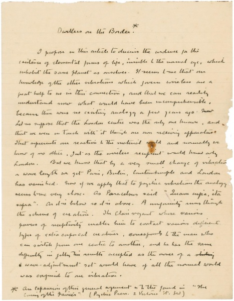 File:Manuscript-the-edge-of-the-unknown-dwellers-on-the-border-p1.jpg