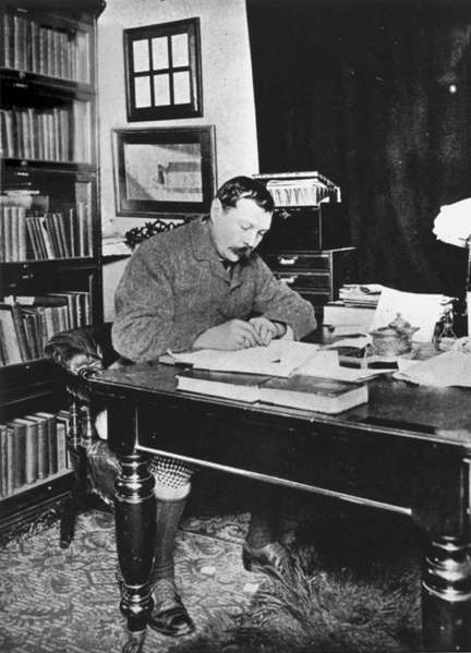 File:1890-1891ca-arthur-conan-doyle-writing-at-desk.jpg